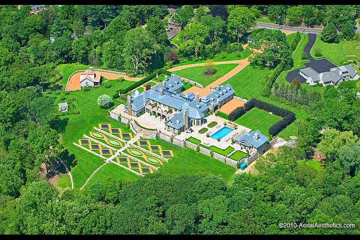 aerial photojudge judy sheindlin residence greenwich